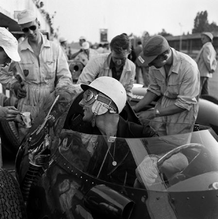 Stirling Moss, Grand Prix of Italy, Monza, 1957