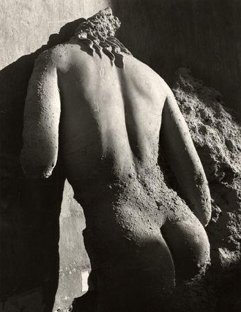 Marble Statue Antikytherea I, Athens, 1937, 40cm x 30cm Silver Gelatin Photograph