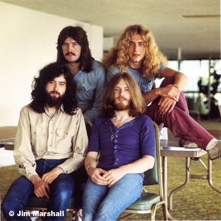 Led Zeppelin, Los Angeles, California, 1970, 14 x 11 Silver Gelatin Photograph