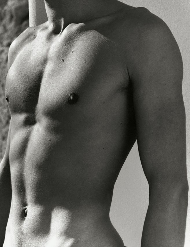 Young Man's Torso, Greece, 1936, Silver Gelatin Photograph
