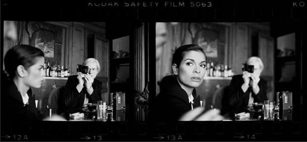 Warhol, Andy & Bianca Jagger, The Factory, NYC, 1977