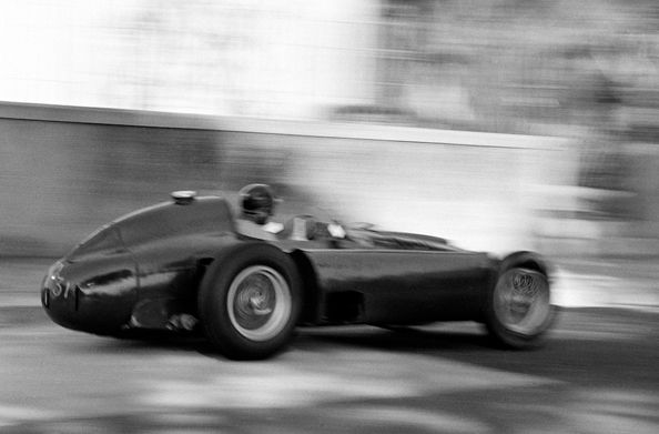 Fangio at Speed, Monaco, 1956