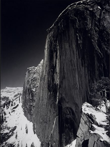 Ansel Adams, Monolith, The Face of Half Dome, Yosemite National Park, California, 1927