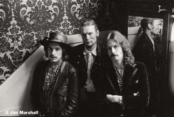 Cream, Sausalito, 1967, 11 x 14 Silver Gelatin Photograph