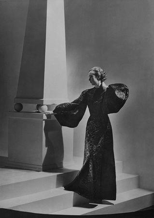 Marie Wolkonsky, Dress by Alix, 1934, 20 x 16 Platinum Palladium on 24 x 20 Paper, Ed. 27