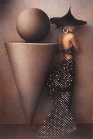 Uma, Patou Dress, 1986, 19 x 13 Fresson Print