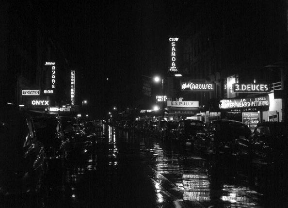 52nd Street, New York, NY, c. July 1948, 16 x 20 Silver Gelatin Photograph