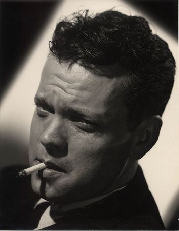 """Orson Welles """"Lady from Shanghai,"""" 1948, 13-3/8 x 10-3/8 Vintage Silver Gelatin Photograph"""
