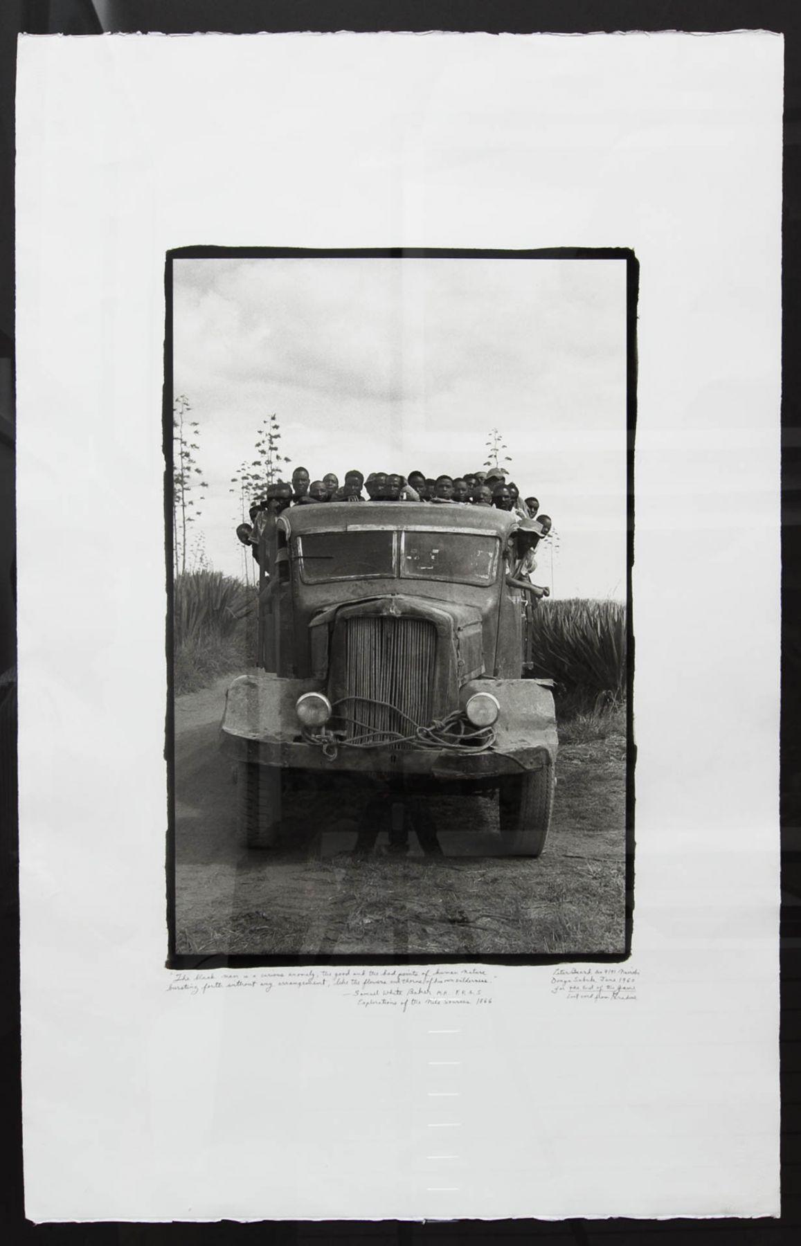Viva La Differance, Danya Subuk, 1968/1998, 40 x 26 Inches, Platinum Palladium Photograph