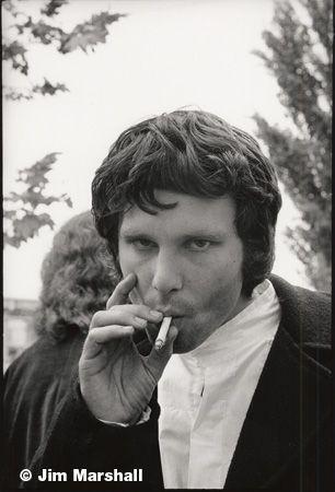Jim Morrison, Northern California Folk Rock Festival, San Jose, 1968, 14 x 11 Silver Gelatin Photograph