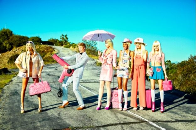 It's a Barbie World, Los Angeles, 2011, C-Print