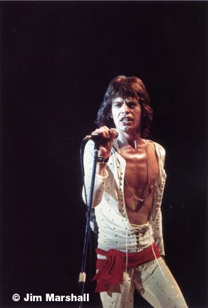 Mick Jagger, 1972, 14 x 11 Silver Gelatin Photograph