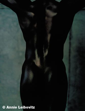 Jacqui Agyepong, Sprinter/Hurdler, Clifton Point, Rhinebeck, New York, 1999, 24 x 20 Archival Pigment Print, Ed. 25
