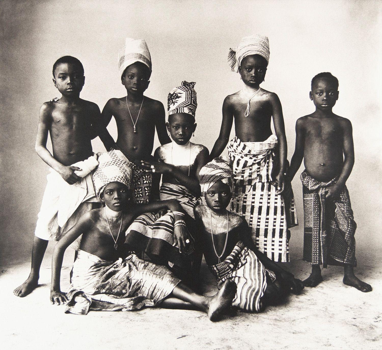 Dahomey Children, Dahomey, 1967, Platinum Palladium Photograph, Ed. of 45