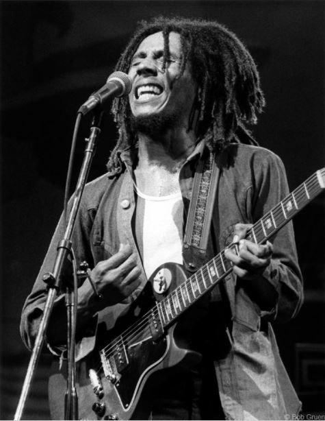 Bob Marley, New York City, 1975, 11 x 14 Silver Gelatin Photograph