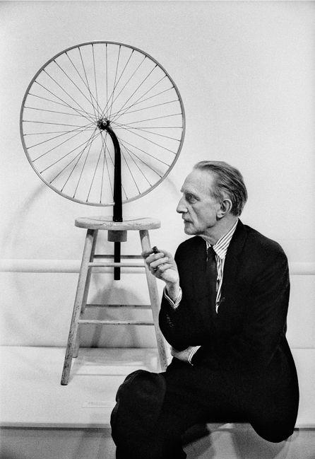 Marcel Duchamp 'Bicyclette', Time Magazine October, 1963, Silver Gelatin Photograph