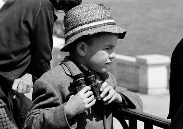 Boy with Glasses, Monaco, 1962
