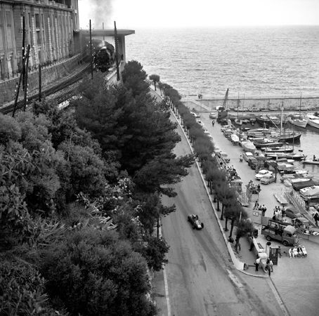 Train at Chicane, Monaco, 1962