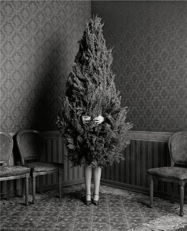 Woman in a Christmas Tree, 1996, Archival Pigment Print