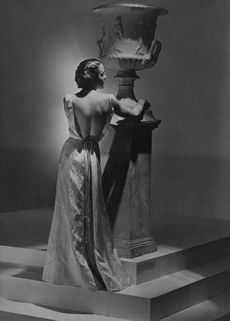Miss Nicole, Evening Dress by Schiaparelli, 1934, 20 x 16 Platinum Palladium on 24 x 20 Paper, Ed. 27