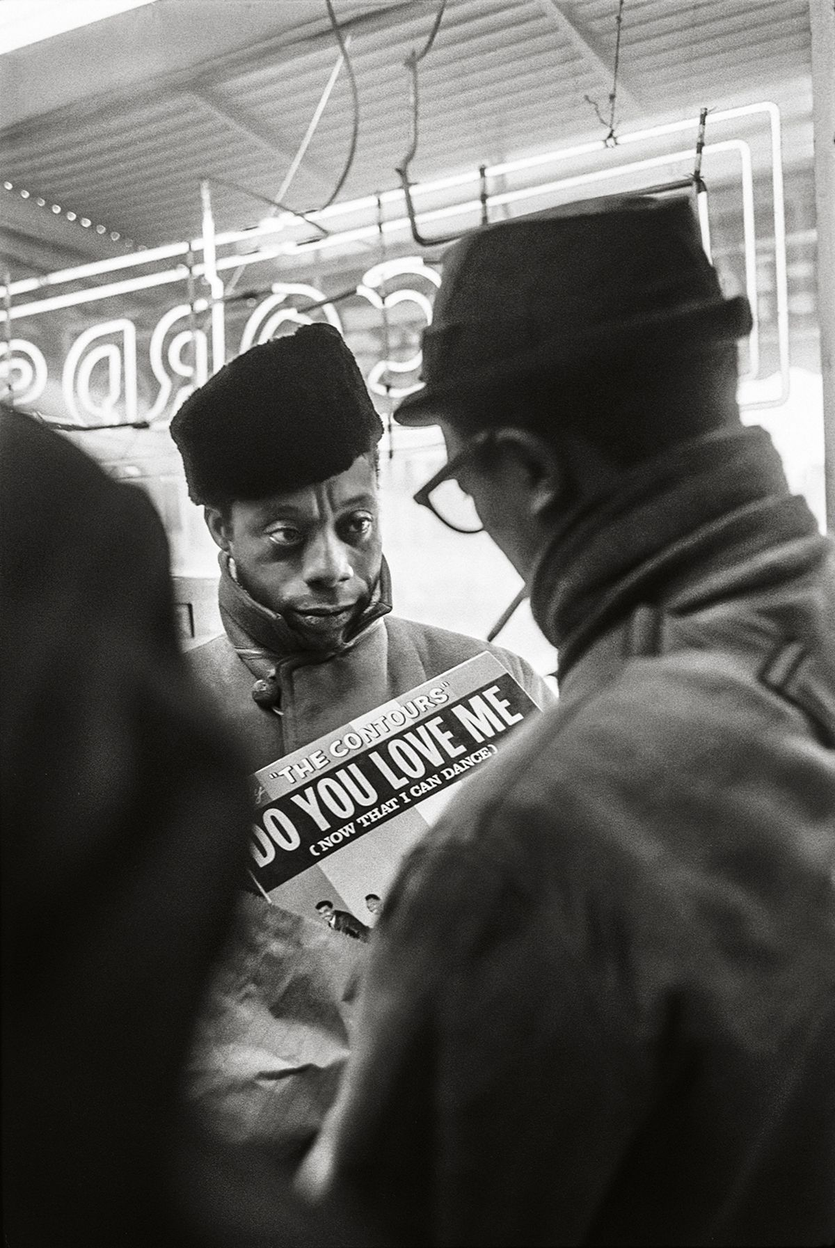 James Baldwin, Do You Love Me, 1963, 20x 16Inches, Silver Gelatin Photograph, Edition of 25