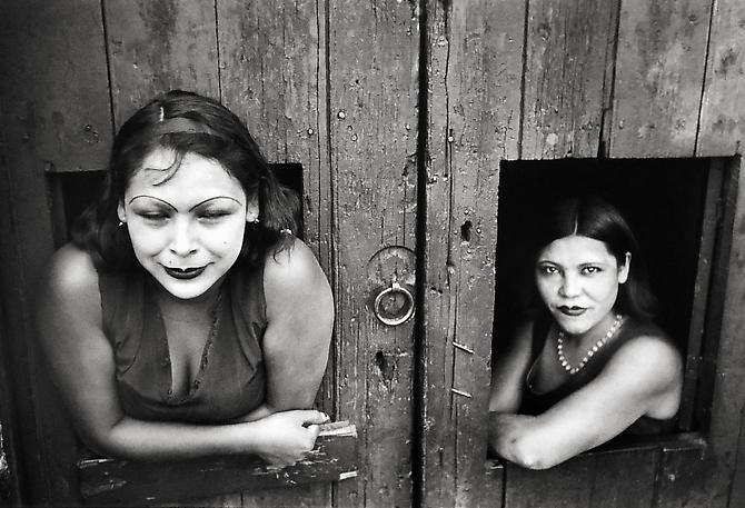 Calle Cuauhtemocztin, Mexico, 1934, 11 x 14 Silver Gelatin Photograph