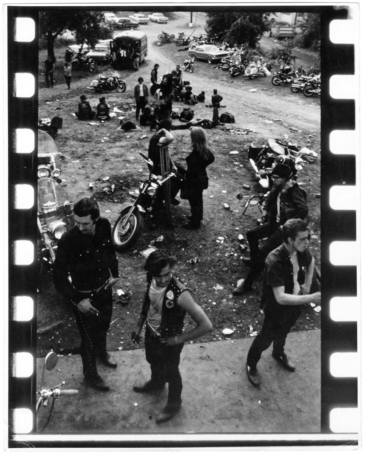 Copyright Danny Lyon / Magnum Photos, Dayton, Ohio, from The Bikeriders, 1966