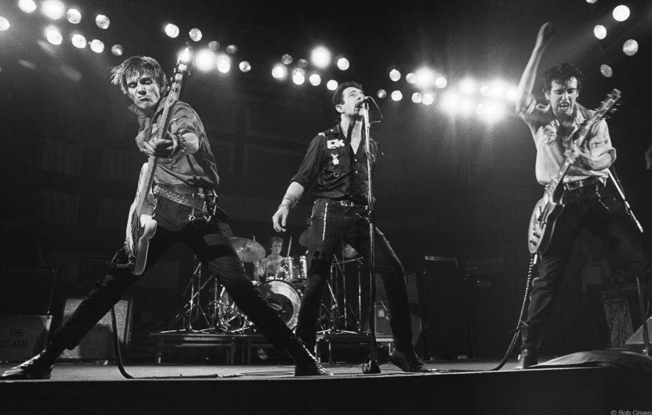 The Clash, Boston, 1979, 11 x 14 Silver Gelatin Photograph