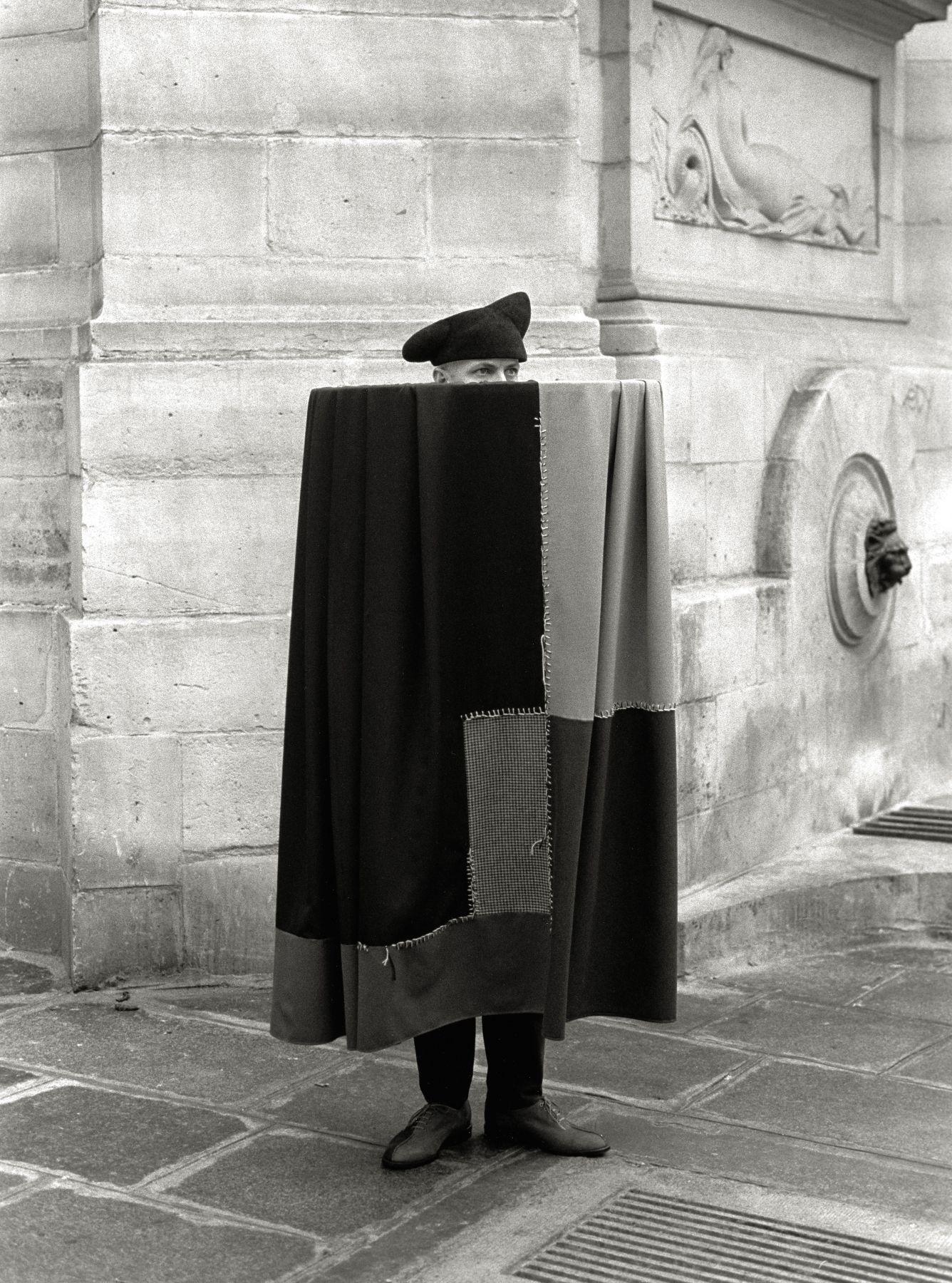 Cloak, Paris, 1992, Archival Pigment Print