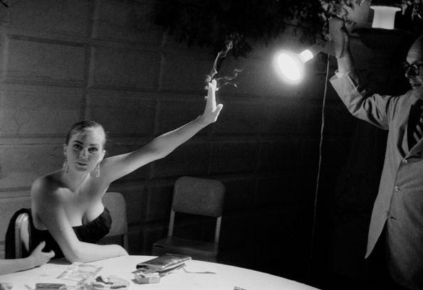Anita Ekberg (Holding Back the Light), 1955