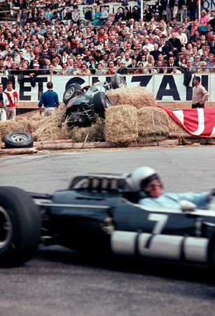 Jack Brabham at Gas Works, Monaco, 1966