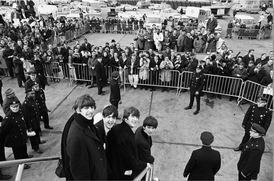 Beatles arrive in New York, 1964