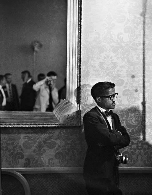 Sammy Davis Jr. at the Beverly Hilton Hotel, 1961, Silver Gelatin Photograph