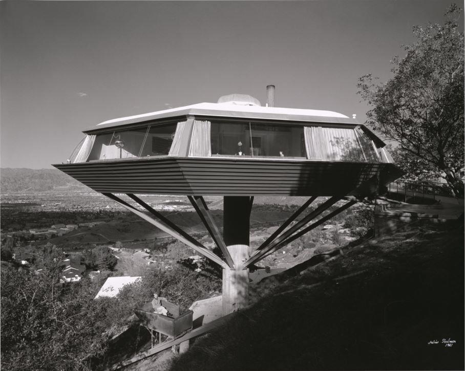 Chemosphere, John Lautner, Malin Residence, Hollywood, California, 1961