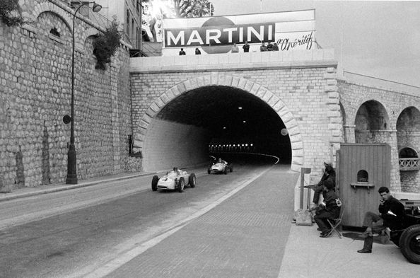 Martini Tunnel, Monaco, 1966