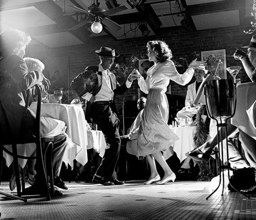 Palm Court Cafe, New Orleans, 1996, 11 x 14 Silver Gelatin Photograph