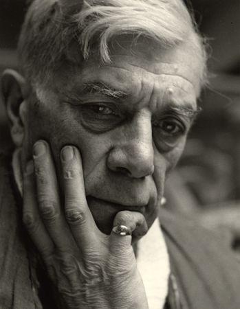 Georges Braque I, Paris, 1948, 40cm x 30cm Silver Gelatin Photograph