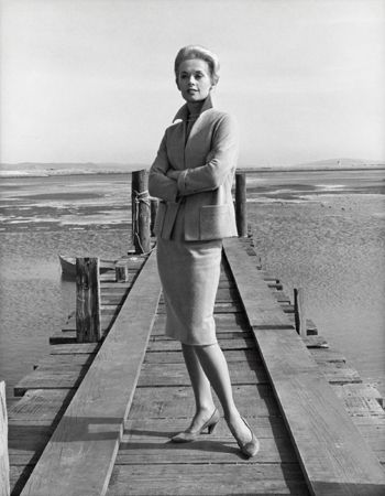 "Tippi Hedren Publicity Shot for ""The Birds,"" 1963, 14 x 11 Vintage Silver Gelatin Photograph"