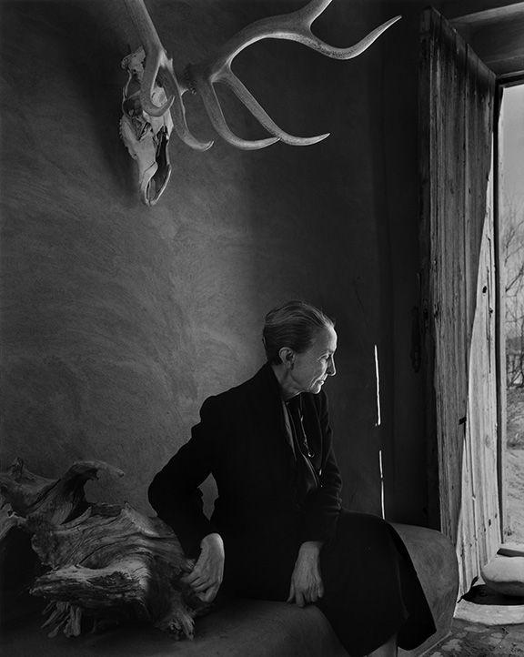 Yousuf Karsh Georgia O'Keefe, 1956
