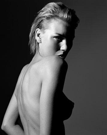 Black + White Breast, 24 x 20 Lambda Print, Ed. 25