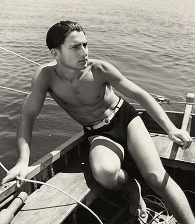 Sailing, Liguria, 1937, 16 x 12 Silver Gelatin Photograph