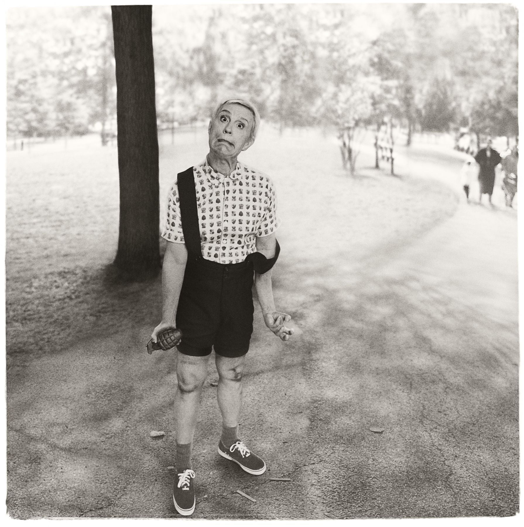 Diane Arbus / Child with a Toy Hand Grenade in Central Park, N.Y.C. (1962), 2014