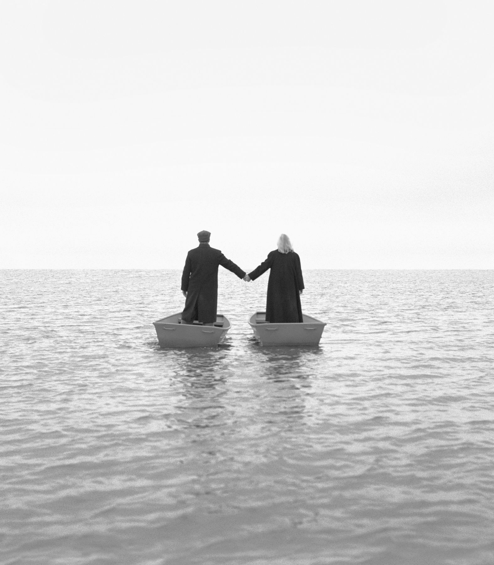 Couple on the Water, 1999, Archival Pigment Print