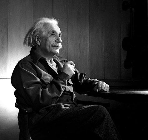 Albert Einstein, New Jersey, 1948, 14 x 11 Silver Gelatin Photograph