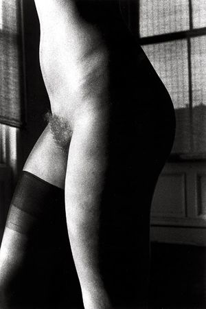 Untitled (Nude One Knee High), 1974, 14 x 11 Silver Gelatin Photograph, Ed. 25