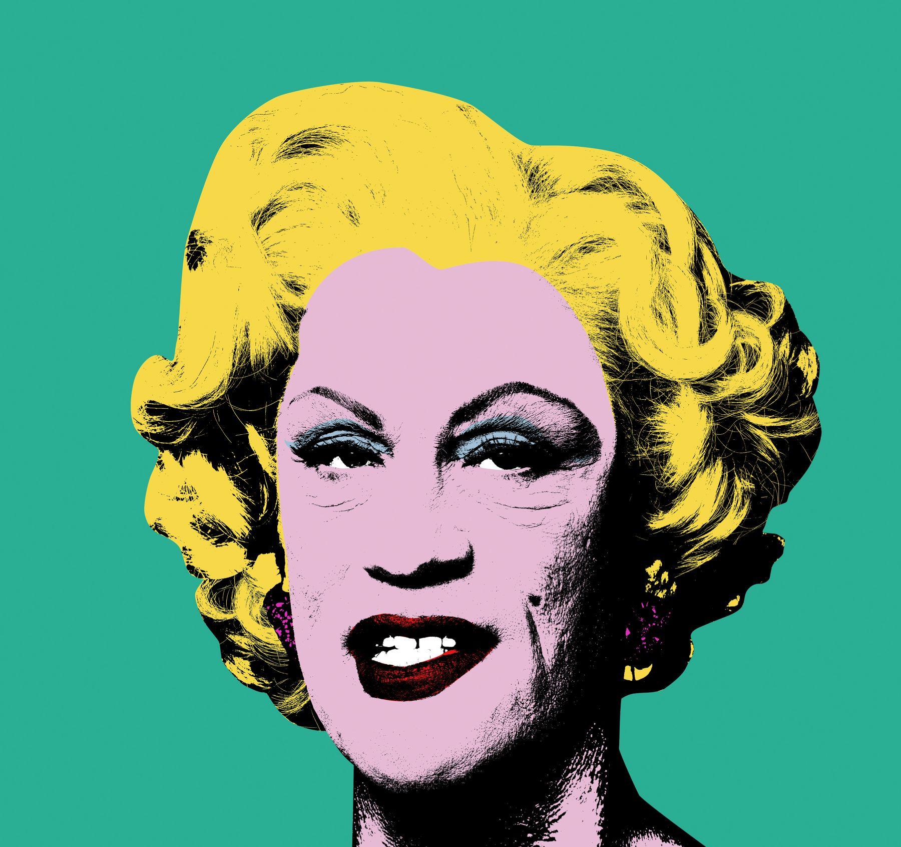 Andy Warhol / Green Marilyn (1962), 2014