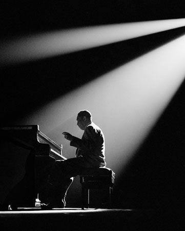 Duke Ellington, Paris, 1958, 14 x 11 Silver Gelatin Photograph
