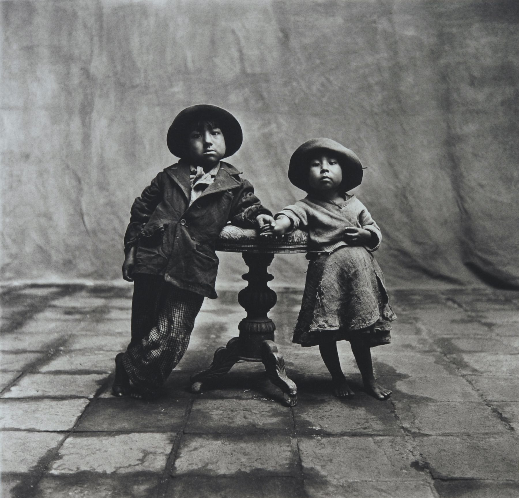 Cuzco Children, Peru, 1948, Platinum Palladium Photograph, Ed. of 60