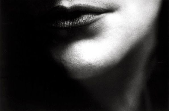 Untitled (Lips), 1987, 11 x 14 Silver Gelatin Photograph, Ed. 25