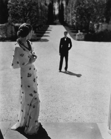 Evening Wear by Carnegie, 1935, 20 x 16 Platinum Palladium on 24 x 20 Paper, Ed. 27